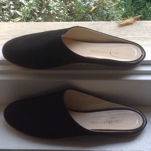 Suede flat Gravity Pope slides